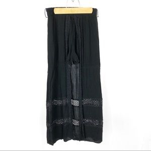 (L-26) No Boundaries Shorts Skirt Black Lace Large